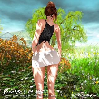 Sierra Top (plain) & Eli skirt | by .:TheBeautifulOnes:. Babs Draconia