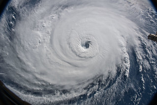 Dramatic Views of Hurricane Florence from the International Space Station From 9/12 | by NASA Goddard Photo and Video