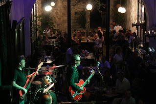 Saturday night band at Punto G | by andrew lorien
