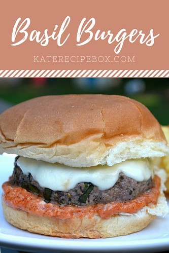 Basil Burgers | by katesrecipebox