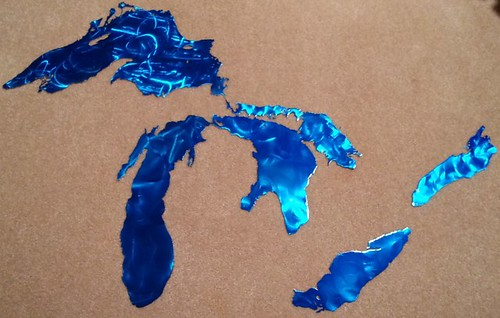 Great Lakes Metal Wall Art | by Wisconsin Manufacturers & Commerce