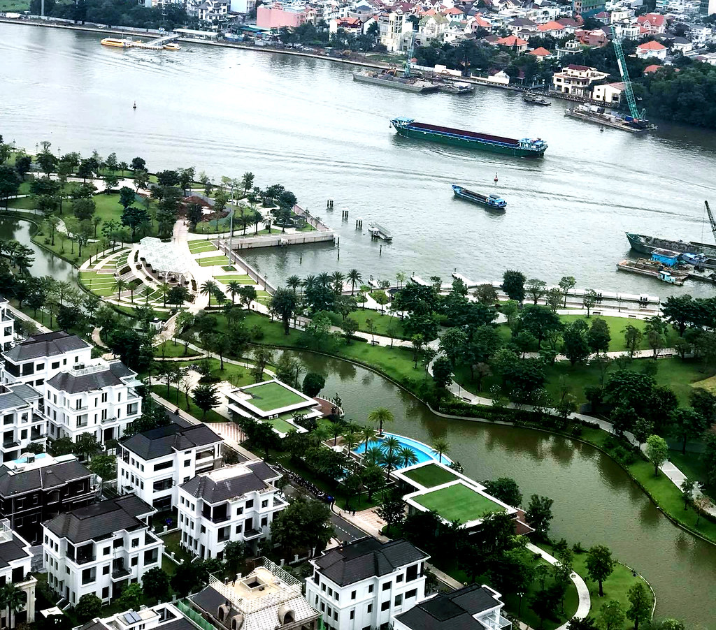 The Villas - Vinhomes Central Park khu biệt thự thượng lưu ven sông Sài Gòn