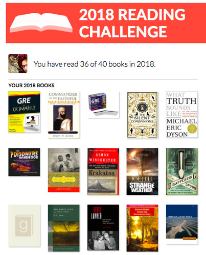 Reading Challenge (AUG) | by Pamela Rouse