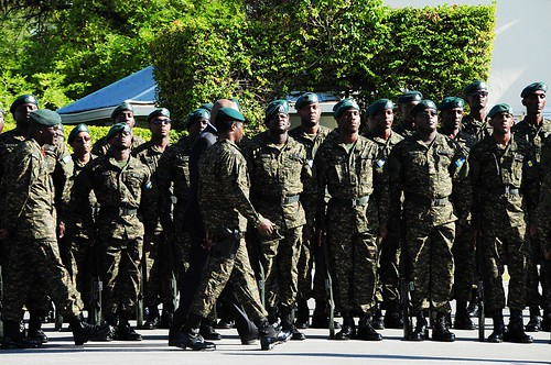 BDF 39th Anniversary Parade & Sunset Ceremony | by barbadosgovernmentinformationservice