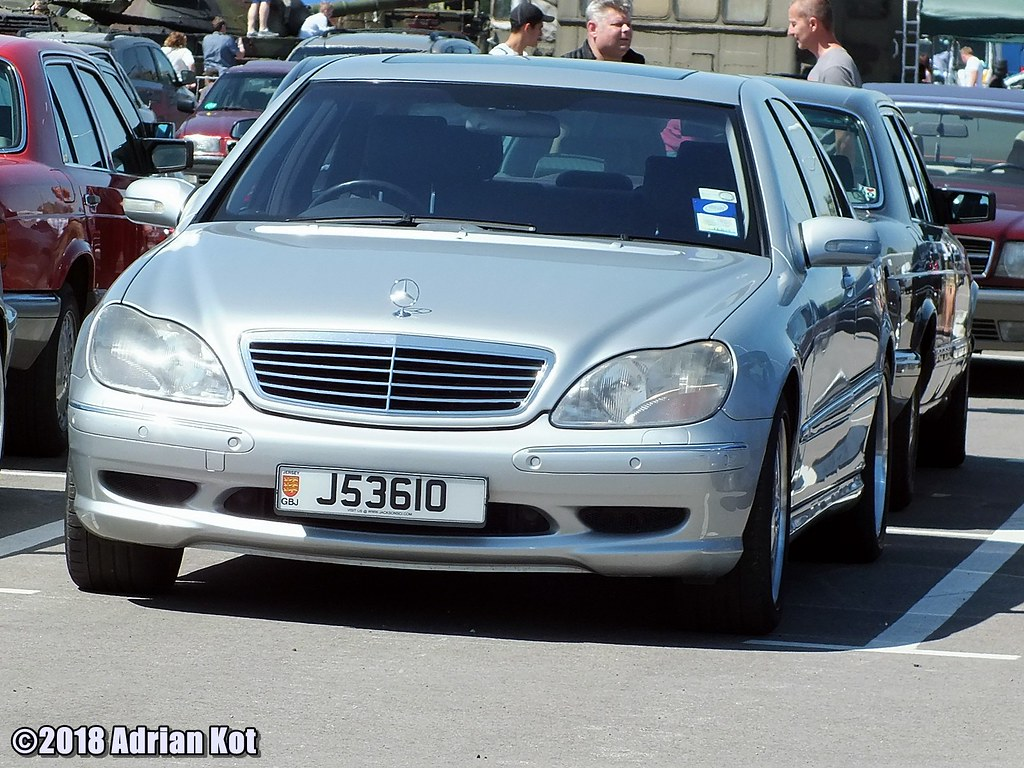 Mercedes Benz S Klasse W220 With Bailiwick Of Jersey Plate Flickr
