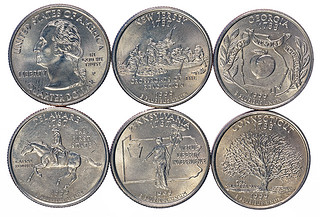 1999 state quarters | by Numismatic Bibliomania Society