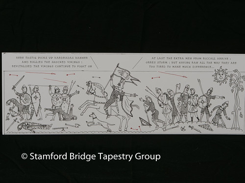 Panel 10 design | by Stamford Bridge Tapestry Project