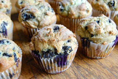 144 - Blueberry Muffins Recipe | by Onlinefoodblog