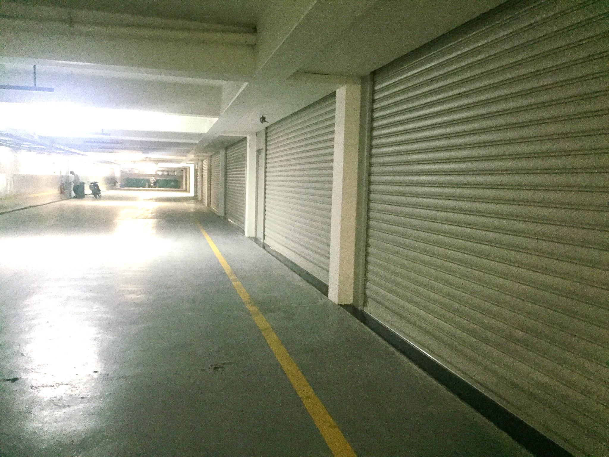 Lối vào tầng hầm dãy Shophouse Nguyễn Cơ Thạch - Khu đô thị Sala Đại Quang Minh
