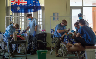 U.S., Australian service members perform dental exams as part of Pacific Angel 18-2 in Vietnam | by #PACOM