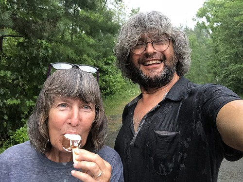 Fitzroy Provincial Park - Rain and ice cream | by Pierre Yeremian