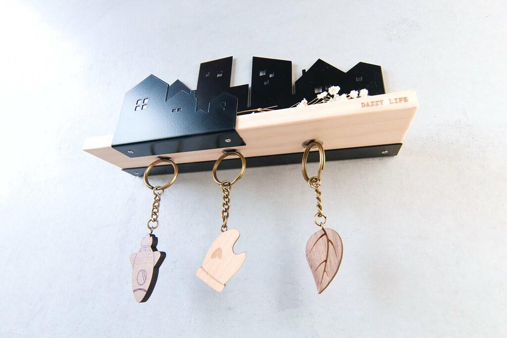 鑰匙圈 客製化 禮物 特色產品 居家 台灣設計 生日 情人節 城市 情侶 家庭 雙人 壁掛 灰色 黑色 多肉 玄關 療癒 聖誕節 收納 裝飾 吊飾 送禮 中性 木 楓木 松木 鑰匙