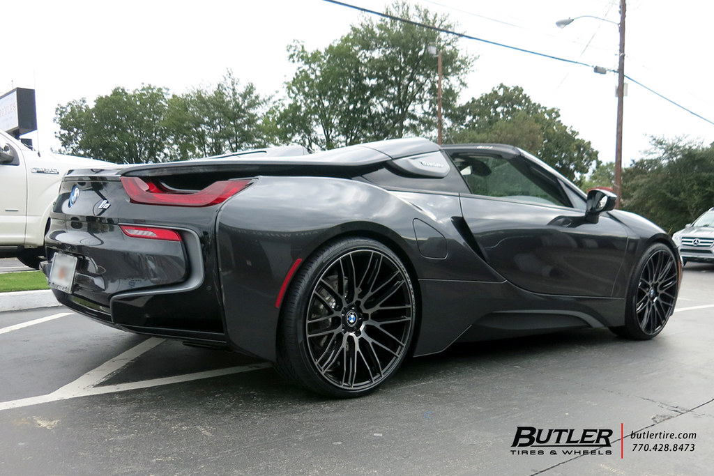 Bmw I8 Roadster With 22in Savini Bm13 Wheels And Pirelli P Flickr