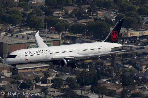 C-FRTW Boeing 787-9 Air Canada Los Angeles airport KLAX 14.09-18 | by rjonsen