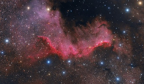 Cygnus Wall in ngc7000 | by Efrem Frigeni