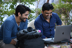 SailajaReddyAlludu Movie WorkingStills