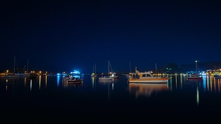 Boats at night! / Gece tekneler! Foça 2018 | by tayfungol
