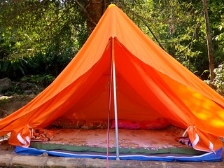 Tent in Dawki