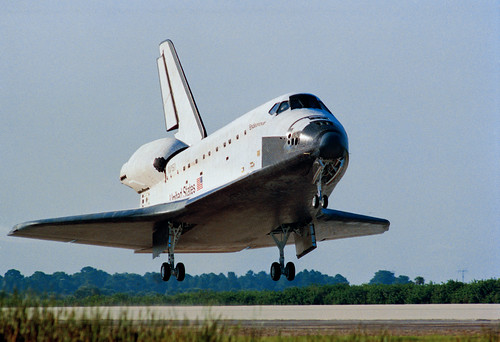 space shuttle landing sequence - photo #25
