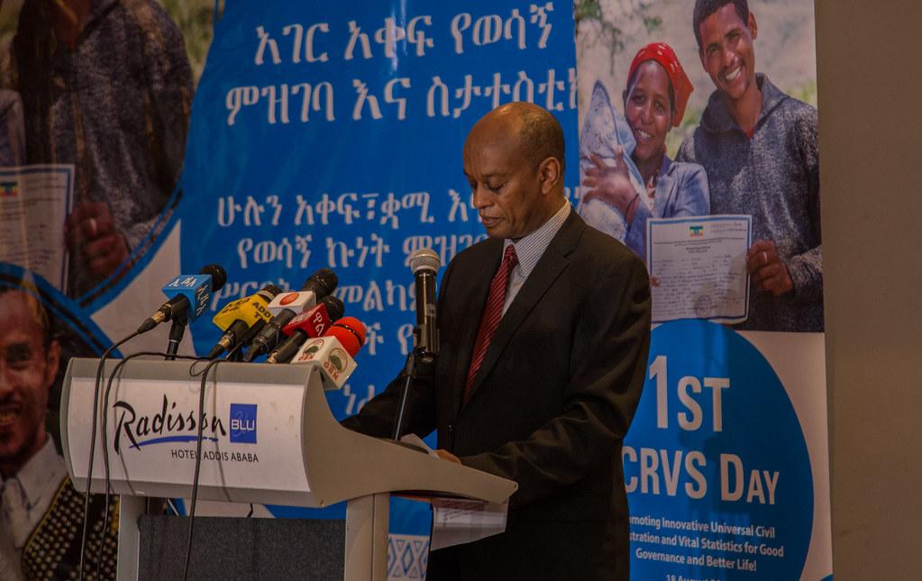 CRVS Day 2018 | Director General of VERA, Mr  Esayas Woldegi… | Flickr