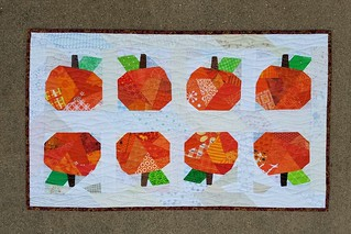 pumpkin runner | by quilts by lisa