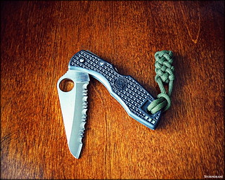 spydie salt and paracord fob | by Stormdrane