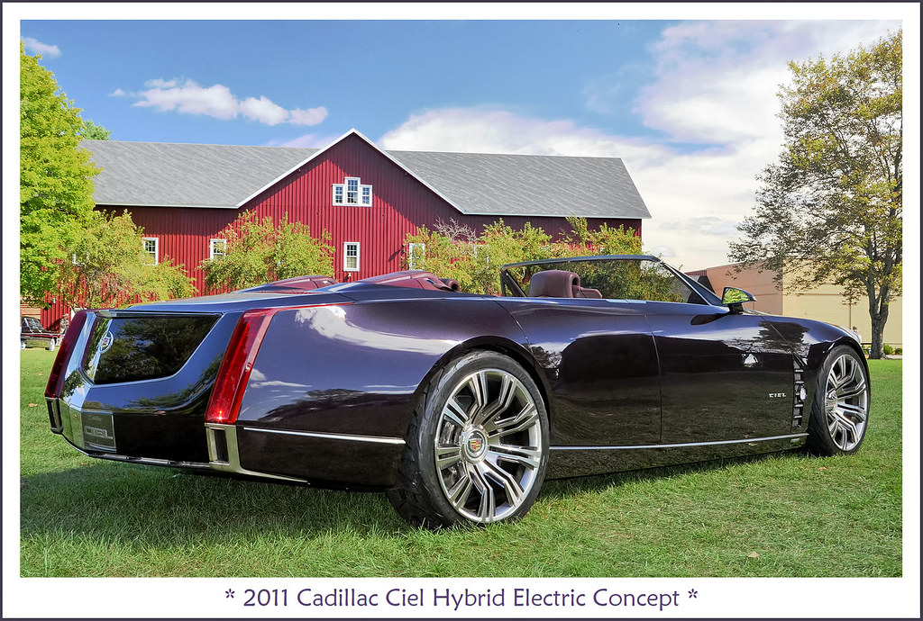 2011 Cadillac Ciel Hybrid Electric Concept The September 2 Flickr