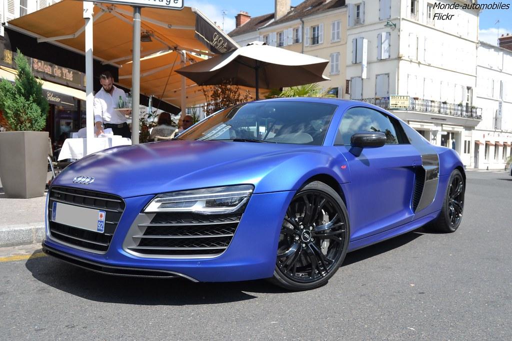 Audi R8 V10 Plus 2013 Vu Fontainebleau 77 Flickr
