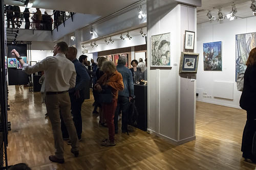 Vernissage de l'exposition Levall Art 2018 à l'Escale | by Ville de Levallois