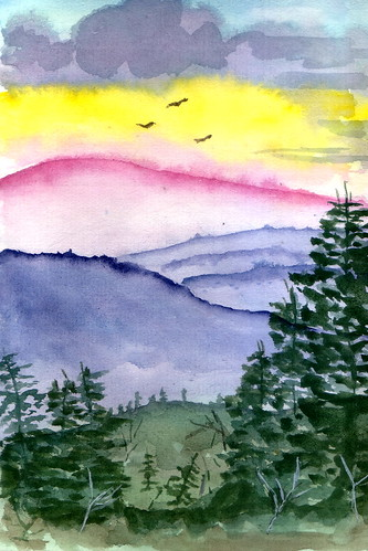 watercolor23-mountain | by salazar62