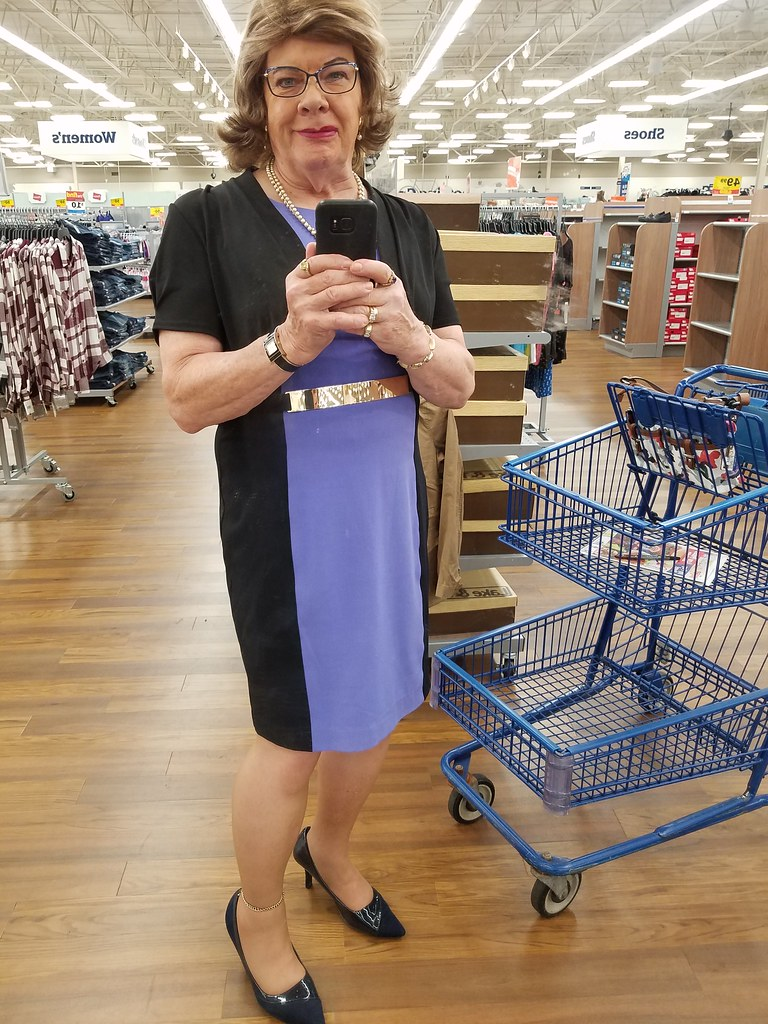shopping at meijers in my new liz claiborne dress found i flickr
