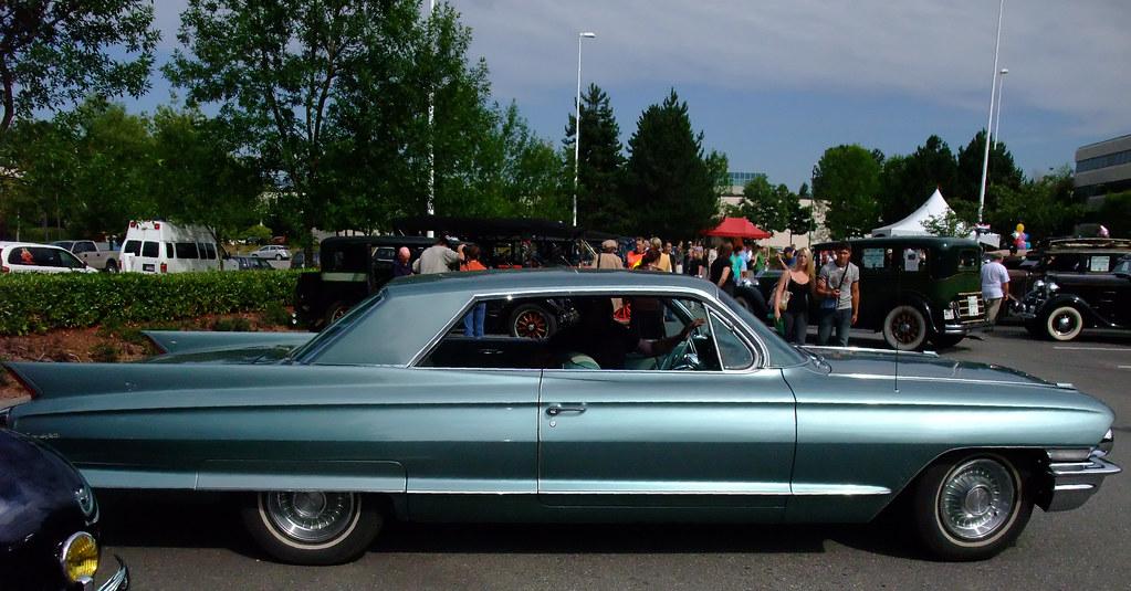 1961 Cadillac Coupe De Ville 2 Door Hardtop Vintage Car Ru Flickr