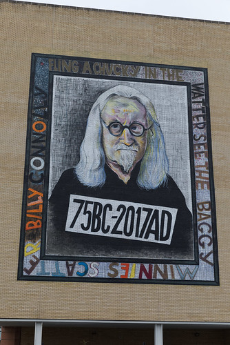 Glasgow - John Byrne Billy Connolly mural 5D4_2364 | by Ronnie Macdonald