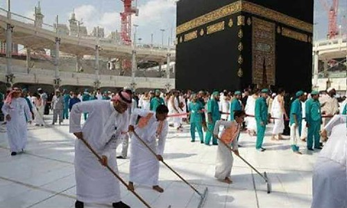 4754 The Grand Mosque hires 85 Saudis to work as Cleaners 02 | by Life in Saudi Arabia