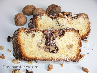 Chec rapid cu nuca si ciocolata | by World Food Recipes