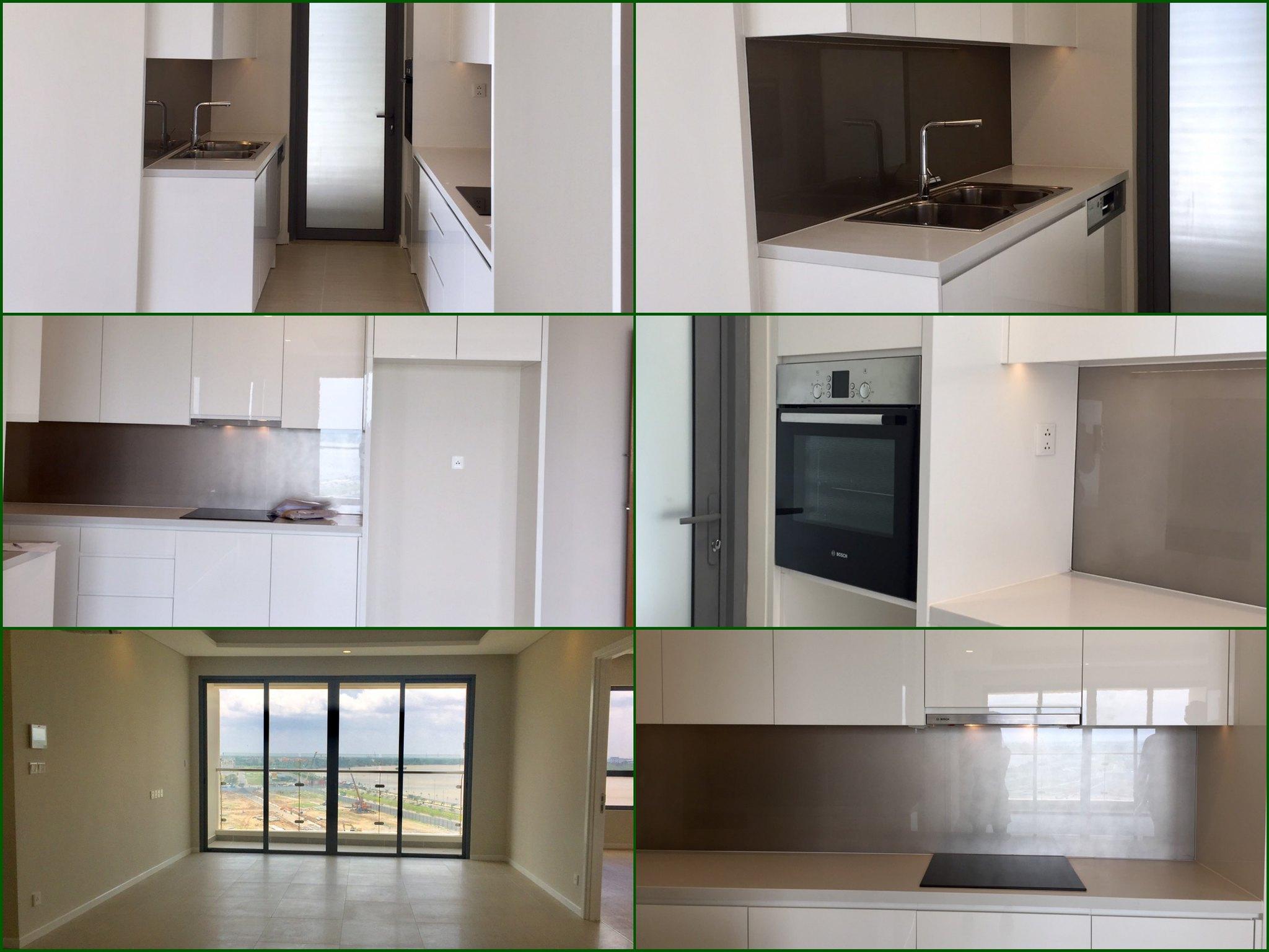Hình ảnh thực tế căn hộ cho thuê nội thất cơ bản tại Diamond Island
