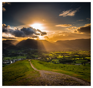 Last Light on Latrigg | by muddybootsuk