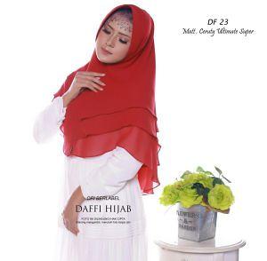 Jual Jilbab Warna Merah Khimar 3 Layer Jual Jilbab Warna M Flickr