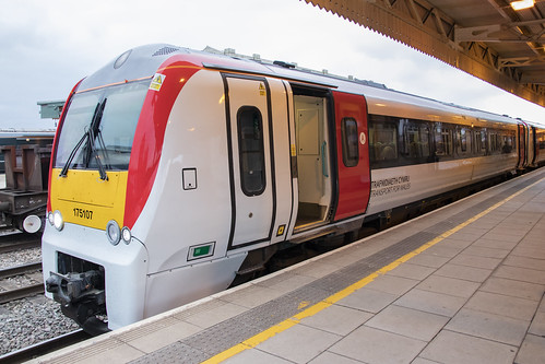 175107 In Transport For Wales Livery Class 175 Dmu