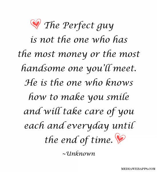 Love Quotes The Perfect Guy Love Quotes Love Quotes Qu Flickr