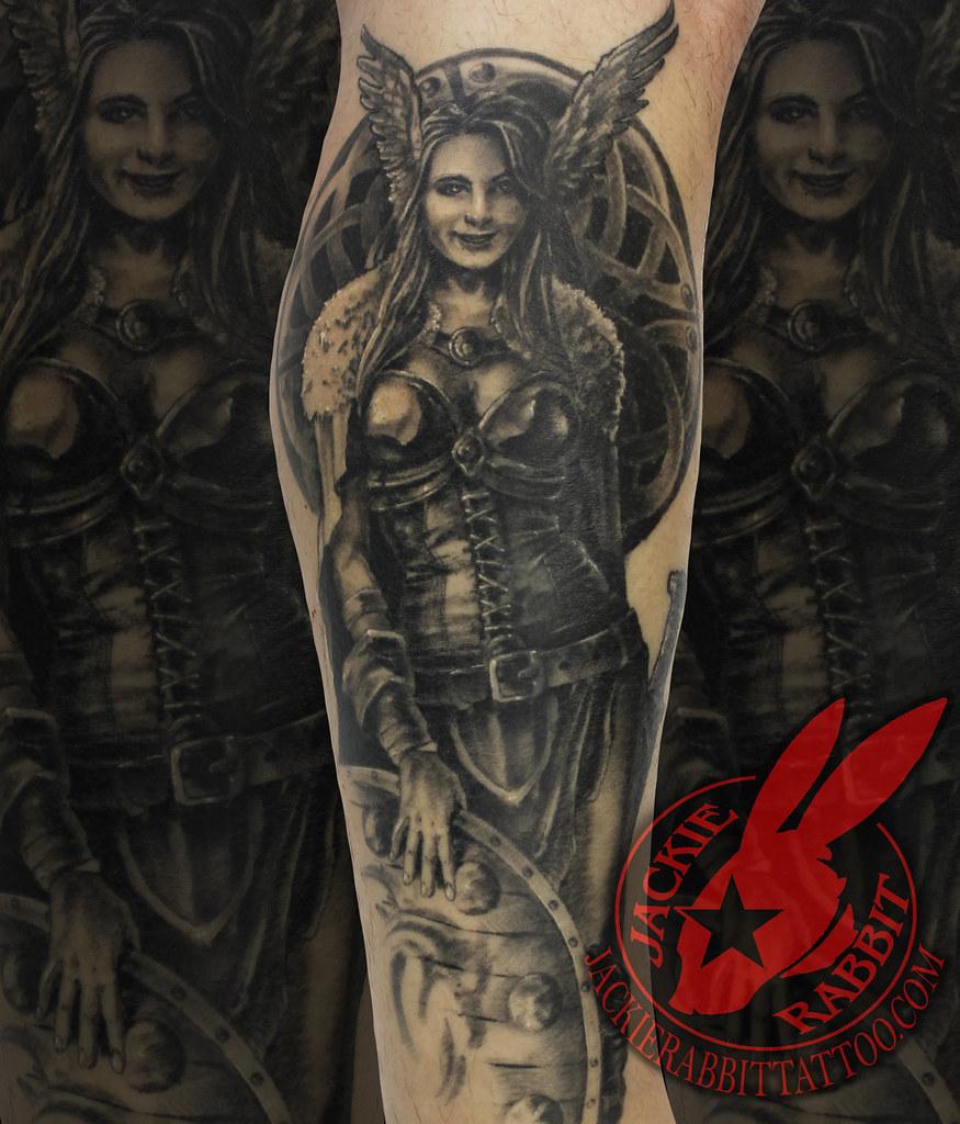 Viking Woman Warrior Female Shield Maiden Vikings Ancient Flickr