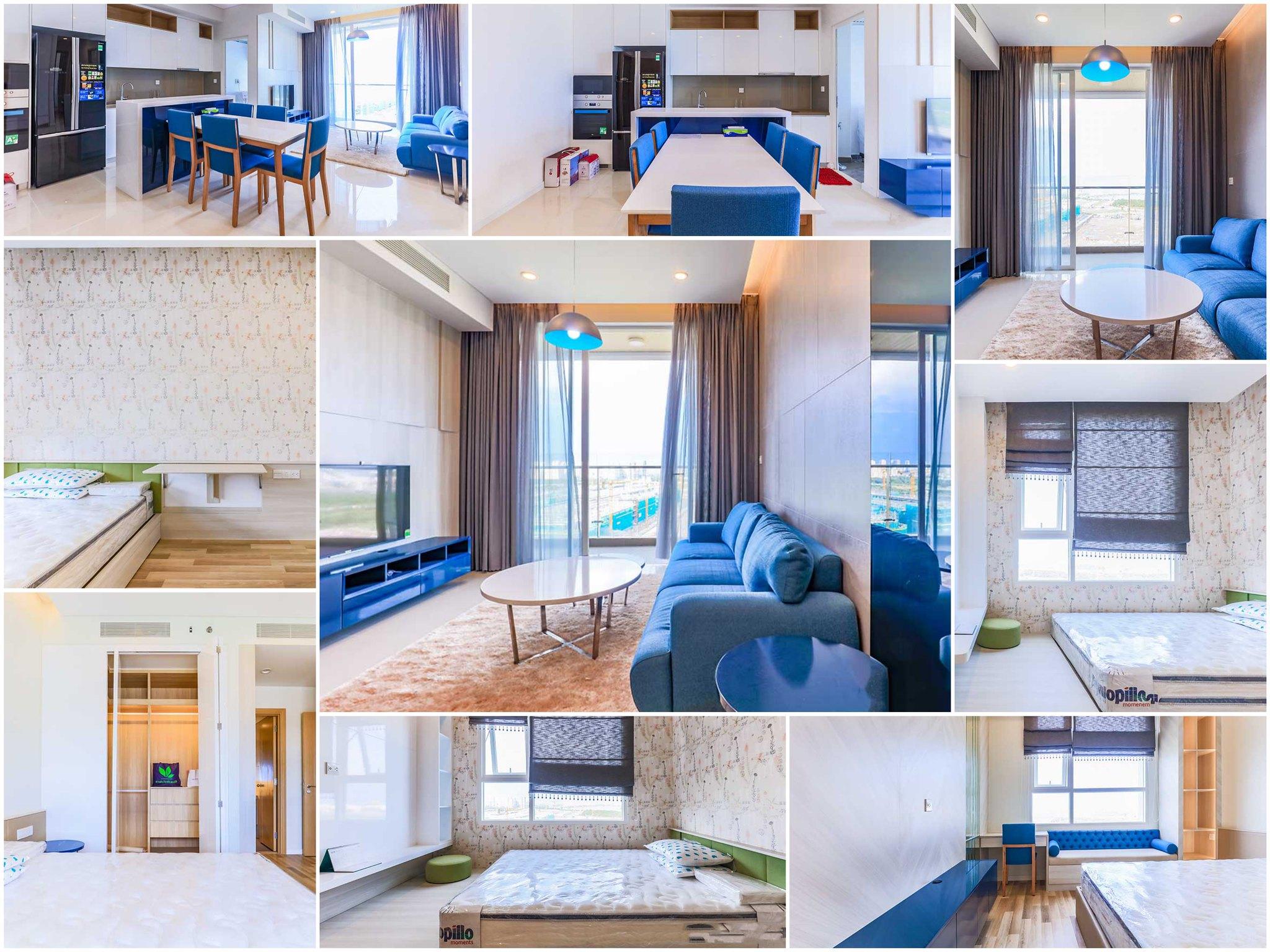 cho thuê căn hộ sala sarimi 2 phòng ngủ