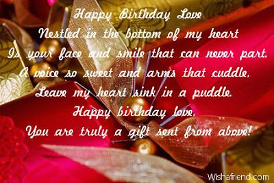 Birthday Quotes Happy Birthday Love Quotes For Him Www W Flickr