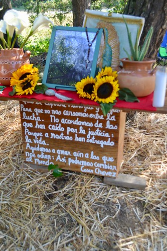 Altar for Honesto Silva Ibarra | by National Farm Worker Ministry