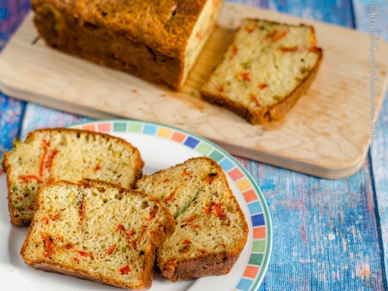 Herzhafter Kuchen Mit Paprikastreifen 1 Rezept Kuechenl Flickr