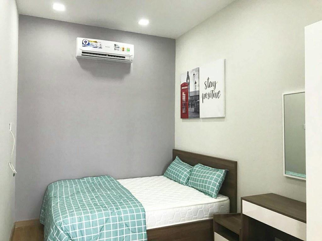 phòng ngủ cho thuê căn hộ sala