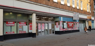 October 17th two For Sale signs on former Woolworths | by Robbob2010