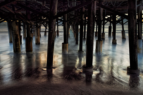 Neath the pier | by Ed Rosack