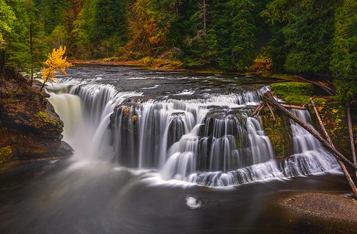 Lower Lewis Falls Autumn | by Cole Chase Photography