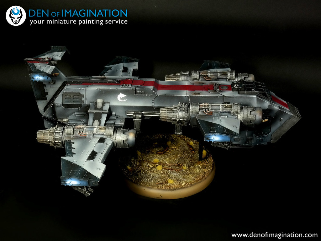Battle Fleet | Den of Imagination - Your Miniature Painting